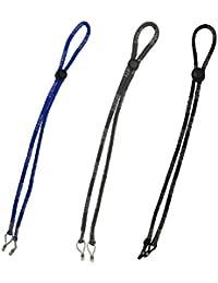 051307730f Boocy Lot de 3 sangles de support pour lunettes lors du sport, cordon  ajustable