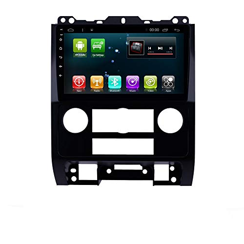 Car GPS Navi 9 inch Android 8.1 Radio for Ford Escape 2007-2012 Head Unit WiFi Navigation Multimedia Player Stereo BT (Android 8.1 2+32G for Escape 2007-2012) (2010 Ford Escape)