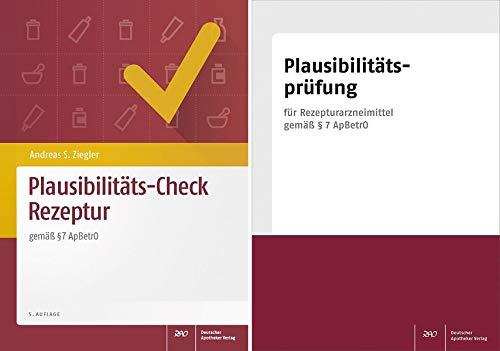 Plausibilitäts-Check Rezeptur mit Plausibilitätsprüfungs-Block - Block Check