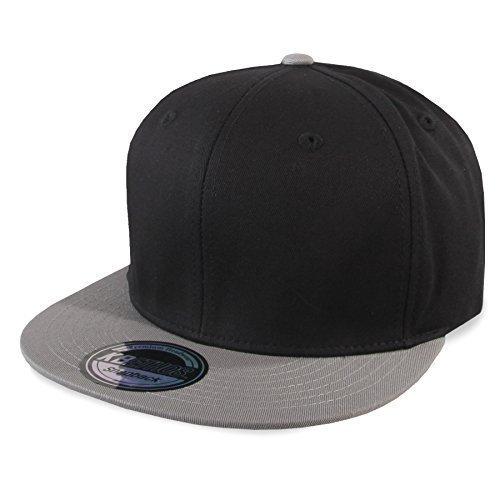 b40ebfb1dbd2 Günstig Ethos USA Snapback Cap 2-Tone (One Size, Black   Lightgrey ...