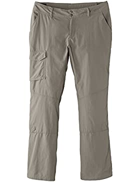 Columbia Silver Ridge, Pantalones de Senderismo para Mujer, Marrón (Tusk),Talla fabricante: 12 US