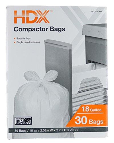 Sacs de compacteur de déchets HD...