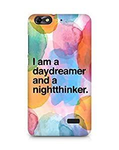AMEZ daydreamer and night thinker Back Cover For Huawei Honor 4C