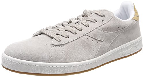 Diadora Game Low S, Chaussures de Gymnastique Homme Gris (Grigio Chiaro Sabbia)