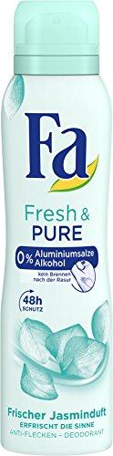 Fa Deospray Fresh und PURE 48h, 6er Pack (6 x 150 ml)