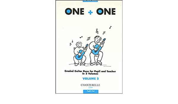 Sheet Music & Song Books One Plus One Vol 2 Pupils Part Guitar Duet