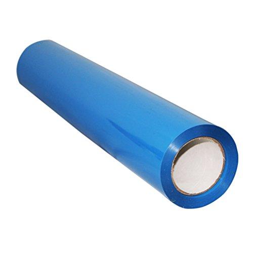 Ultnice rotolo di pellicola in vinile termoadesivo per magliette, abbigliamento sportivo, tessuto (blu)
