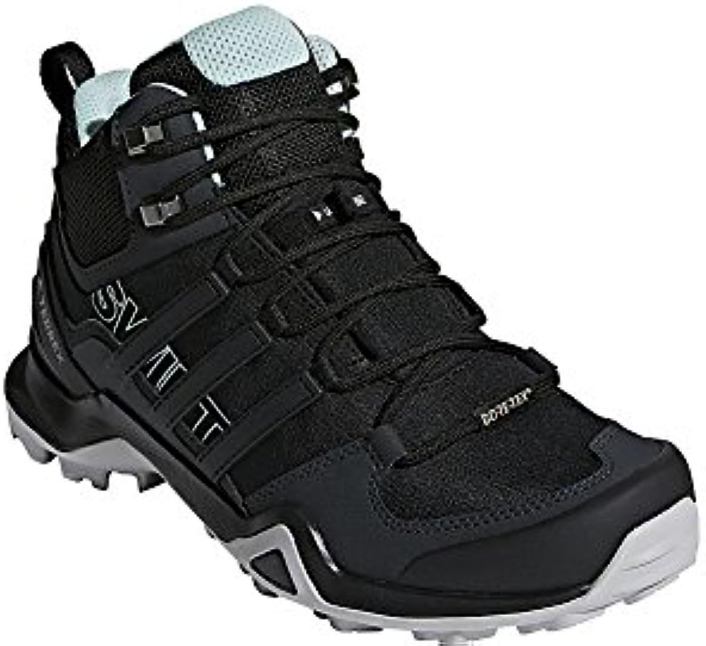 adidas outdoor terrex - swift r2 mi - gtx marche - terrex femmes est noire / Noir  / frêne vert, 7,0 8b19d5
