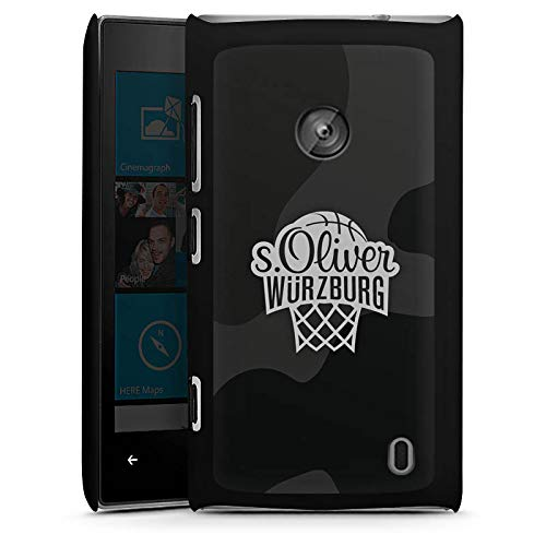 DeinDesign Hülle kompatibel mit Nokia Lumia 520 Handyhülle Case s. Oliver Würzburg Logo Camouflage