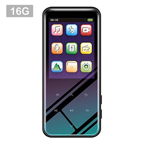 ningxiao586 2,4-Zoll-Touchscreen-MP3 / MP4-Player, 4/8 / 16GB extra Langer Standby-Aufnahme-MP3-Player mit verlustfreiem Sound und Musikkopfhörer inklusive (Touchscreen Gb Mp4 Player 16)