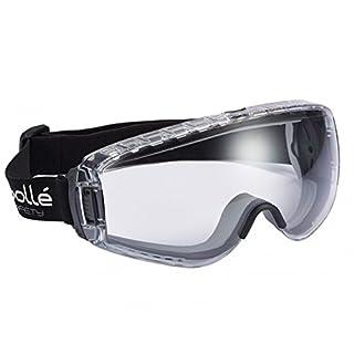 Bollé PILOPSI Schutzbrille Pilot, klar/schwarz, Einheitsgröße