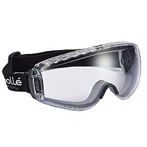 Bollé Pilopsi Goggles Pilota, Dimensioni unità, Chiaro / Nero 41GtWo Bn4L. SS300