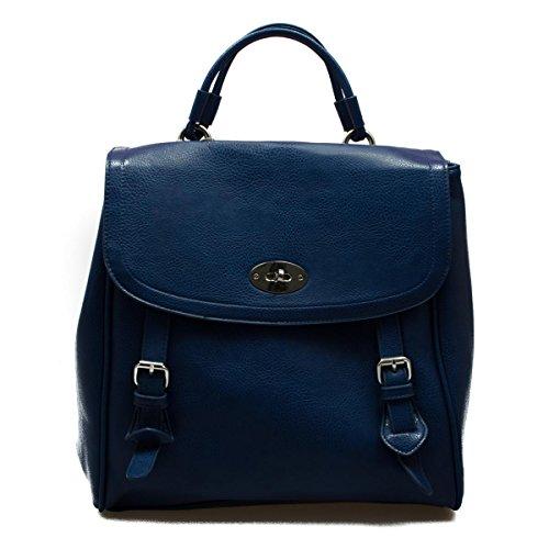 Pieces Taffy Handbag donna, zaino, blu, One size EU