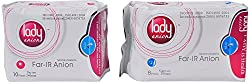 Lady Anion Sanitary Napkins - 1 Day, 1 Night Packs