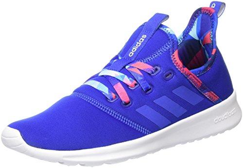 adidas Damen Cloudfoam Pure Fitnessschuhe, Mehrfarbig (Collegiate Royal/Hi-Res Blue S18/Ftwr WHT), 39 1/3 EU