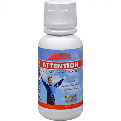 Liquid Health Attention - 8 oz - Liquid by Liquid Health (English Manual)