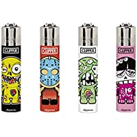 Clipper No 96, Little Beasts, mini Collection, Pack of 4 Lighters (NEW 2018)