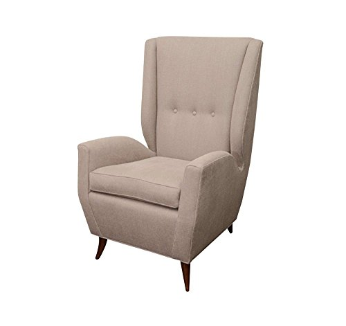 Afydecor Wingback Chair (Beige)