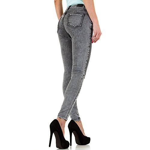 iTaL-dESiGn -  Jeans  - skinny - Donna Grau