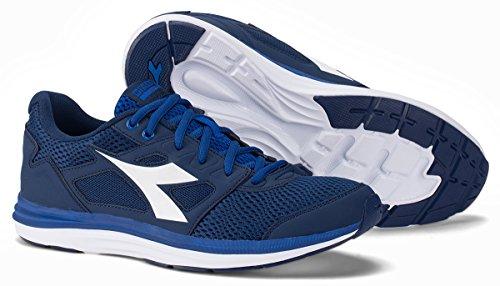 Diadora , Baskets pour homme Bleu Marine