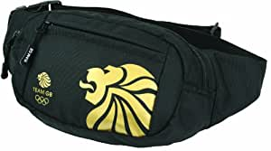 Highlander Team GB Lion Head Waist Bag Accessories - Black