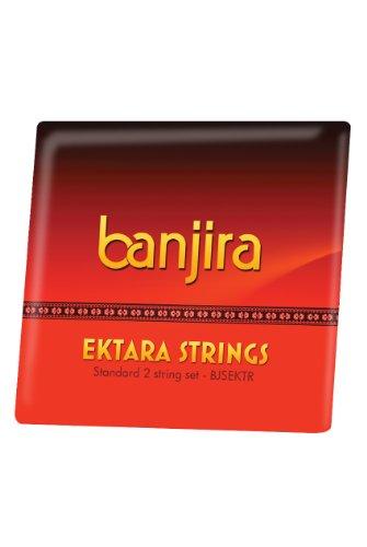 banjira Ektara 2-String Set Schleife endet Logo Shaker Set