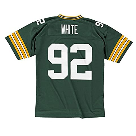 Mitchell ness reggie & white green bay packers nFL maillot