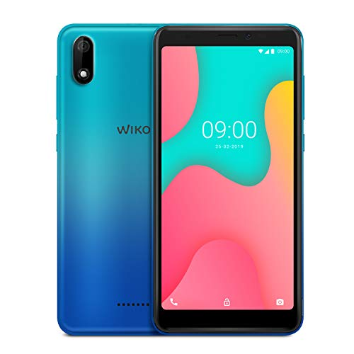 WIKO Y60, 16GB+1GB Smartphone 5,45 Zoll (13,8cm) 18:9 Display, 4G, Android 9.0 Pie Go, Bleen