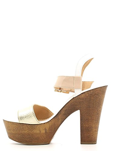 GRACE SHOES Z1610 Sandalo tacco Donna Oro