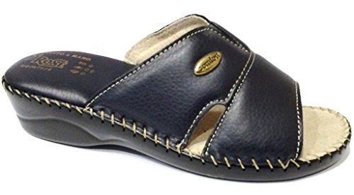 3Rose Zapatillas de estar Por casa de Piel Sintética Para Mujer Negro Negro 36 Negro Size: 40 J6Jz9uJ