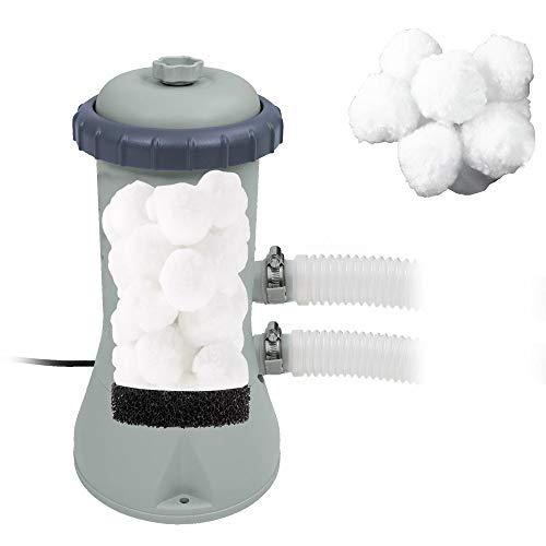 Miganeo® Filter Balls alternativ für alle Filterkartuschen zb. Filter A usw, für Filterpumpe,Pool