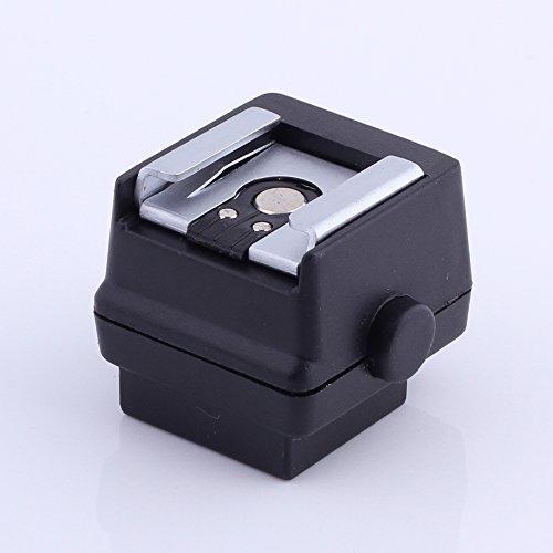 Fotga Flash Hot Shoe Adapter for Konica Minolta Maxuum Dynax 9 7 5 4 3l 60 40 800si 700si 9xi 7xi 8000i 7000i Sony Alpha Dslr-a100 A200 A300 A350 A700 Hot-shoe-sync-adapter
