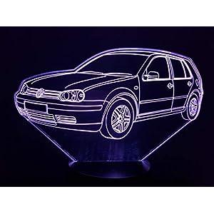 VOLKSWAGEN VW GOLF 4, 3D-Lampe LED