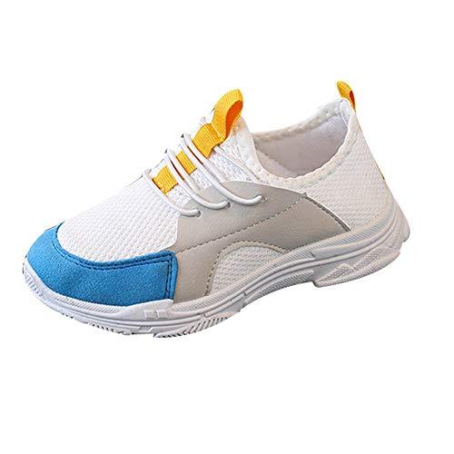 Linlink Kinder Sneaker Jungen Mädchen Kinder Brief Soft Sport Laufschuhe Baby Mesh Schuhe