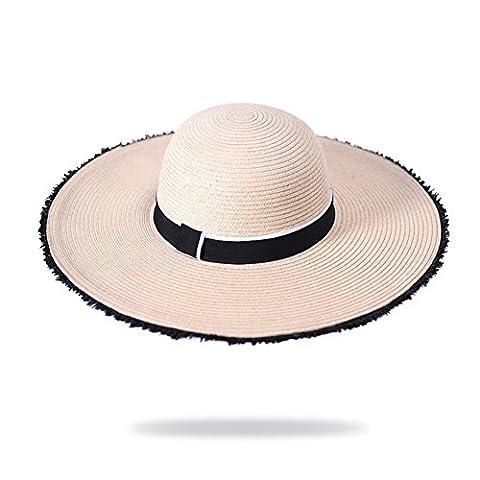 Grand chapeau/Chapeaux Derby/Ping Sun Hat, Sun/Chapeaux de fête/Chapeaux de plage-A