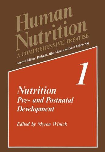 Nutrition: Pre- and Postnatal Development (Human