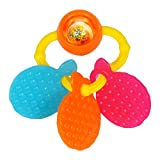 #3: Funskool Orange Teether Rattle