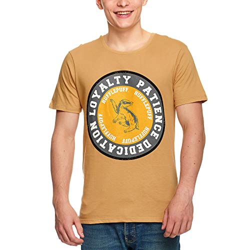 HARRY POTTER Hufflepuff - Loyalty T-Shirt beige M