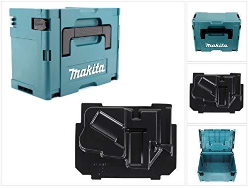 Makita MAKPAC 3 Kunststoffkoffer inkl. Makpac Einlage für Makita DHR 241