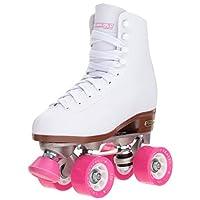 حذاء تزلج كلاسيكي رباعي العجلات عالي الجودة بلون ابيض للنساء من شيكاغو, CRS400-06 , , 6, , White Rink Quad Skates,, 1