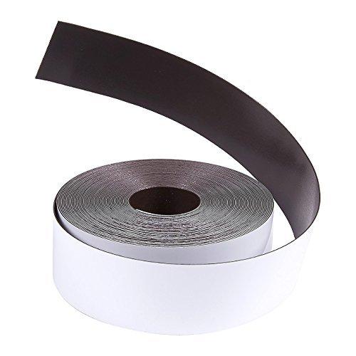 �wiederbeschreibbare Magnetische trocken abwischbare Whiteboard-Rolle, 2,5cm X 25Feet, Weiß ()