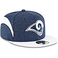 New Era NFL Los Angeles Rams Authentic 2018 Sideline 9FIFTY Snapback Home Cap