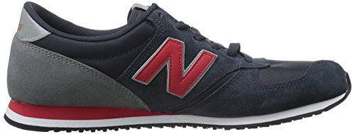 New Balance 383341 60, Baskets Basses Mixte Adulte Bleu (Navy/410)