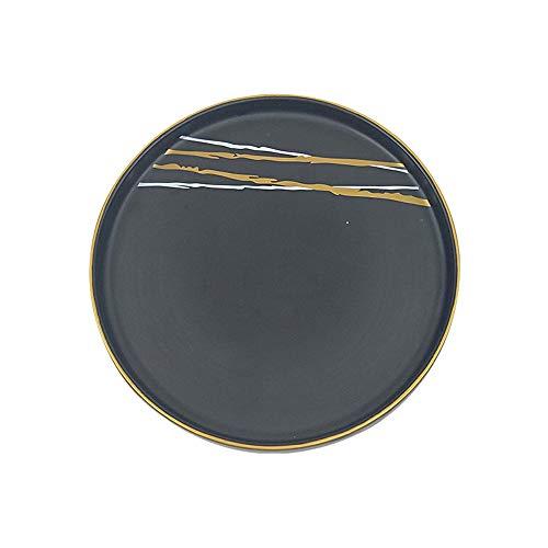 Ofenwechsel Vintage Keramik kreative japanische Platte Hotel Esstisch 26cm - Prinzessin Servierplatten Servierplatte