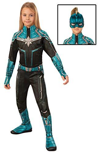 Rubies - Disfraz Oficial del Capitán Marvel Kree, Disfraz niños