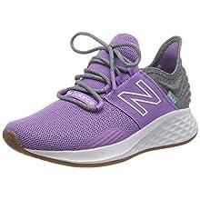 New Balance Women's Fresh Foam Roav W Road Running Shoe, Purple (Neo Tv), 4.5 UK