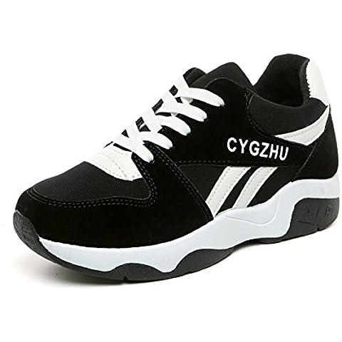 Studenti in primaverile ed estate scarpe/Scarpe da ginnastica donne coreane/scarpe casual selvatici/scarpe da corsa piane/Marea viaggi scarpe NET