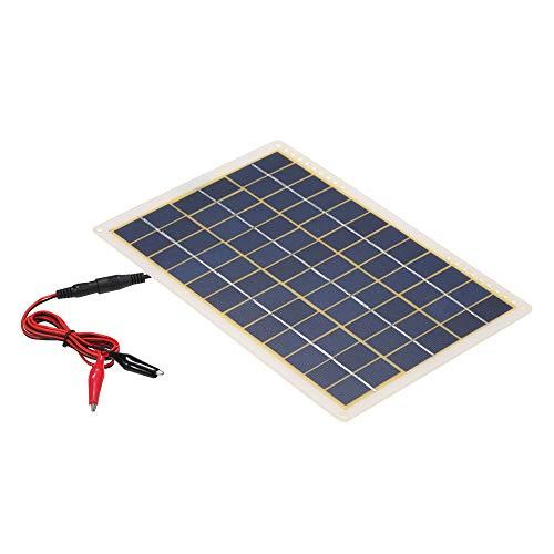 Festnight DC5V / DC18V 15W tragbare Solar Power Energy Lade Panel USB-Schnittstelle IP65 Wasserbeständigkeit Notwendigkeiten für Outdoor Camping Wandern Klettern