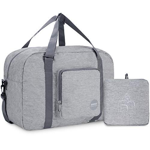 Wandf Leichter Faltbare Reise-Gepäck Handgepäck Duffel Taschen Übernachtung Taschen/Sporttasche für Reisen Sport...
