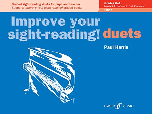 Improve your sight-reading! Piano Duets Grades 0-1 (Piano Und Duets Faber Faber)